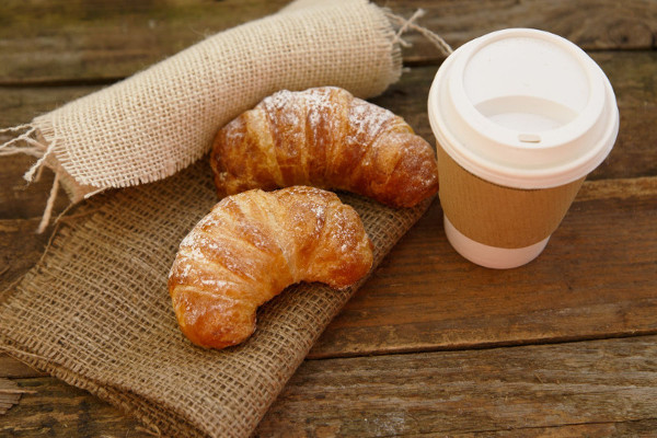 Coffee and Croissant Sold at Ready Set FUN!