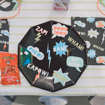 toddler birthday party superhero theme